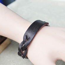 woven Leather           one direction charm secret bracelets men for women bangles   steampunk rock vintage fine retro jewelry
