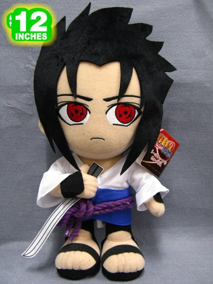 "Free Shipping 12"" Japanese Anime Naruto Plush Toys Cute Uchiha Sasuke Dolls With The Sharingan Hot Stuffed Toys For Kids(China (Mainland))"