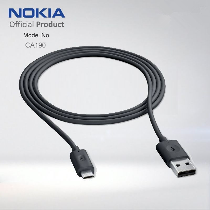 For Nokia CA-190CD Micro USB Charging and Data Cable for Lumia 925 1020 820 720 620 Data Sync(China (Mainland))