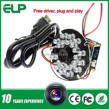 720P HD OV9712 CMOS free driver H.264 usb 2.0 high speed mini usb digital camera ir with Audio microphone(China (Mainland))