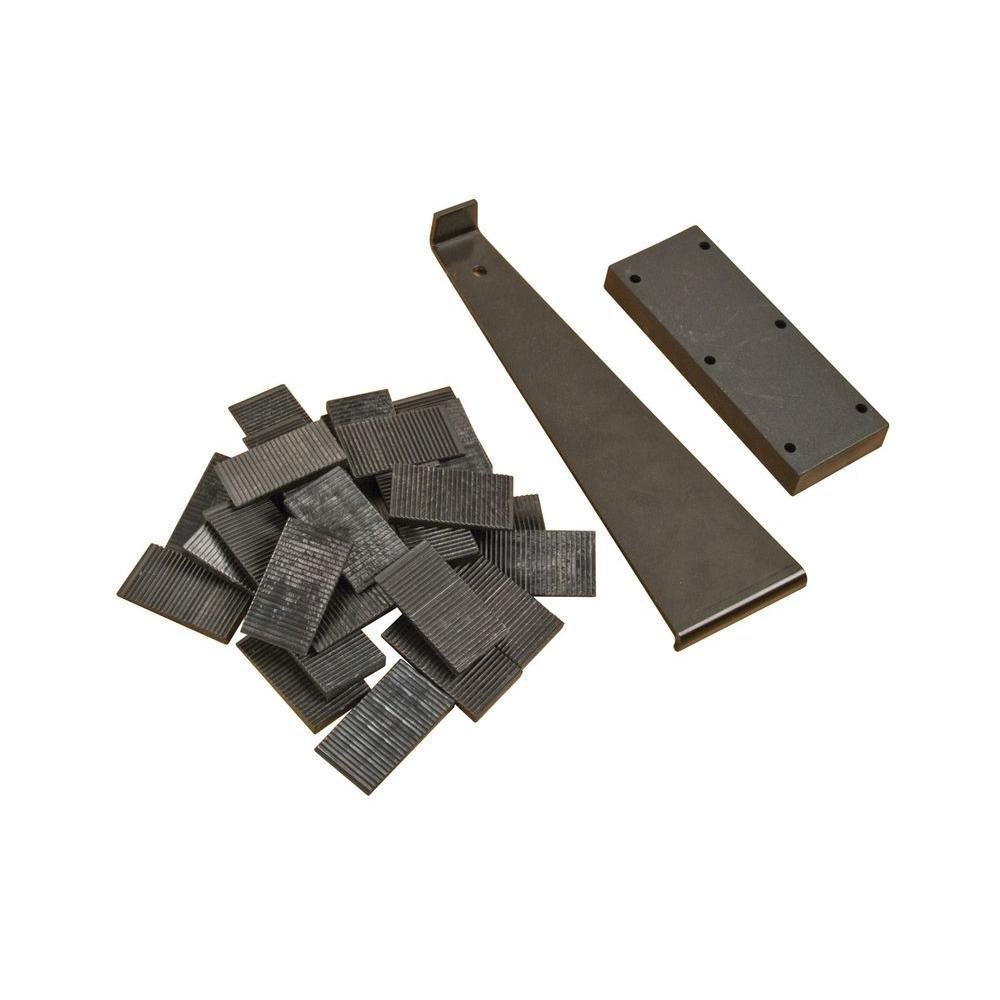 Hot Sale Laminate Flooring Installation Kit with Tapping Block, Pull Bar and 30 Wedge Spacers(China (Mainland))