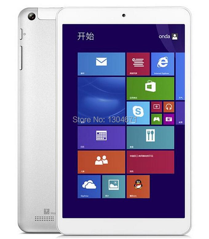 Onda V819W for Intel Z3735 Quad Core 8 Inch Win8 Tablet PC Windows 8.1  8 IPS Screen 1GB/16GB 2MP/5MP HDMI Bluetooth <br><br>Aliexpress