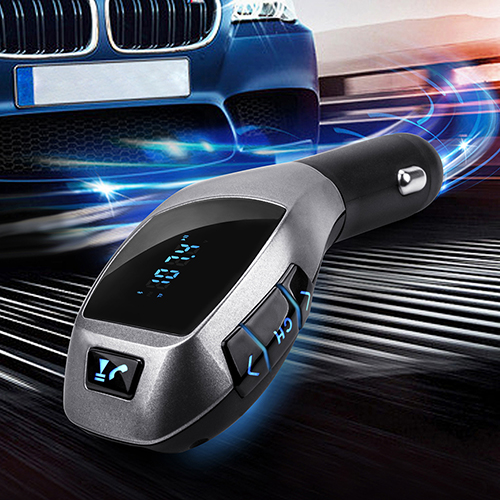 Bluetooth Car Kit Mp3 Player FM Transmitter USB TF Charger Handsfree Wireless Audio Car MP3 Player Bluetooth Audio Transmitter(China (Mainland))