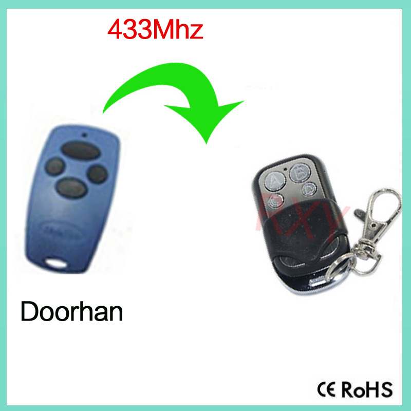 High quality best price DOORHAN garage door opener transmitter compatible remote control with battery
