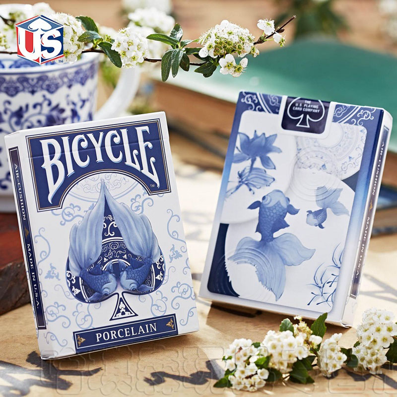 1 Deck NEW Sealed Bicycle Porcelain Playing Cards Poker Limited Edition Magic Tricks Magic Toys Magic Props(China (Mainland))