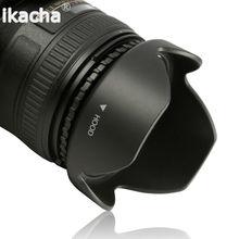 52MM Reversible Petal Flower Lens Hood Canon EOS 6D 7D 50D 60D 5D Mark III 500D 600D 1100D Nikon D7000 D3100 - Digital Accessories Online Store store