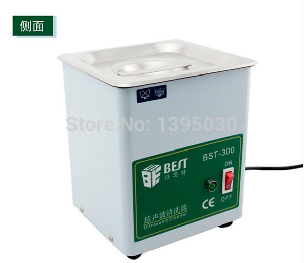 1pc BST-300 Stainless Steel Ultrasonic Cleaner Ultrasonic Cleaning Machine Capacity 1.8L (150X137X100 mm)220V 50W<br><br>Aliexpress
