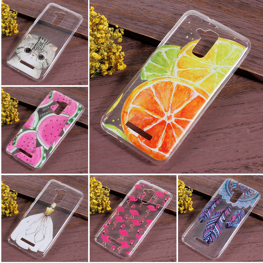 coque capa For Asus Zenfone 3 Max ZC520TL Case Patterned TPU Ultrathin Cellphone Case for Asus Zenfone 3 Max ZC520TL -Watermelon(China (Mainland))