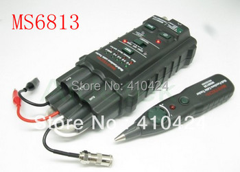 New MASTECH MS6813 Multi-function Network Cable Tester Telephone Line Tester Detector Tracker, RJ45 RJ11 COAX