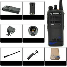 Original GP328 font b walkie talkie b font hand sets driving car explosion