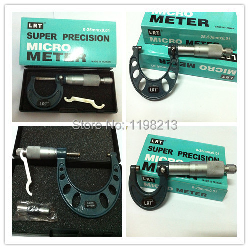 Free shipping + Precision High quality Outside micrometer 25-50 + Hot Sell