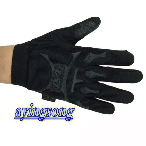 cycling gloves M brand  Black Tactical  Full Finger Airsoft Combat  Gloves