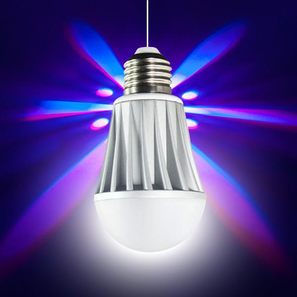 2015 new smart led lamp e27 colorful flash lighting bluetooth light wireless control(China (Mainland))