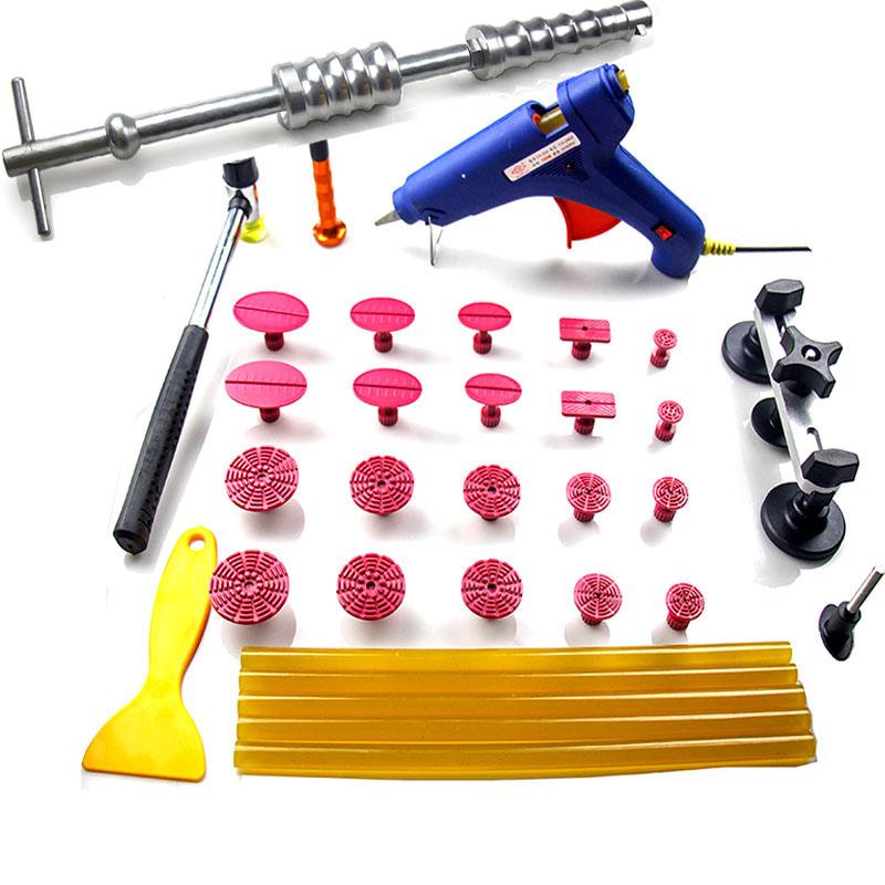 Здесь можно купить  PDR Tools Auto Paintless Dent Repair tools/hand Tools for car/Auto Body dent Repair Tools dent PULLER 38pcs/set  Инструменты