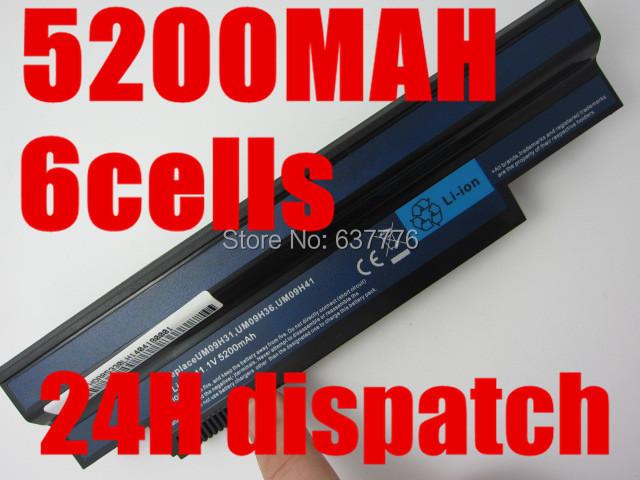 [해외]5200MAH 6 셀 아스 파이어 원 532h UM09H41 UM09H71 AO532..