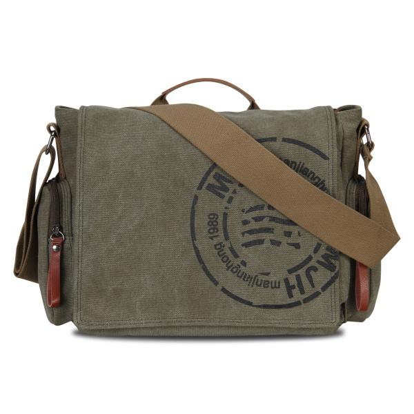 2015 Hot Sale! Veevan vintage men messenger bags canvas shoulder bag men business bag printing travel bag free shipping(China (Mainland))