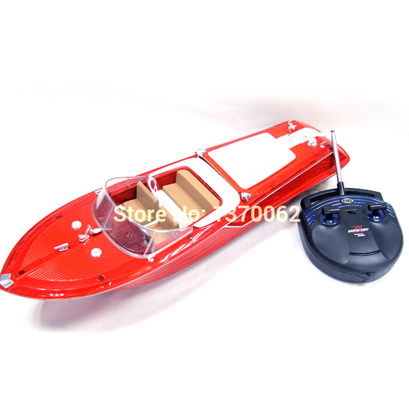 Top Quality New Brightly Radio RC Boat Super Speed Boat  Working Distance 100M Max Speed 10km/h birthday Gifts For Children Toy