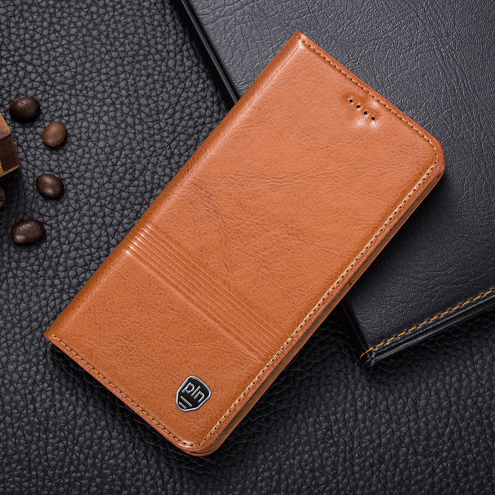 Vintage Magnet Genuine Leather Case Samsung Galaxy J1 SM-J120F / J5 J510 / J7 J710 2016 Mobile Phone Cowhide Leather Cover