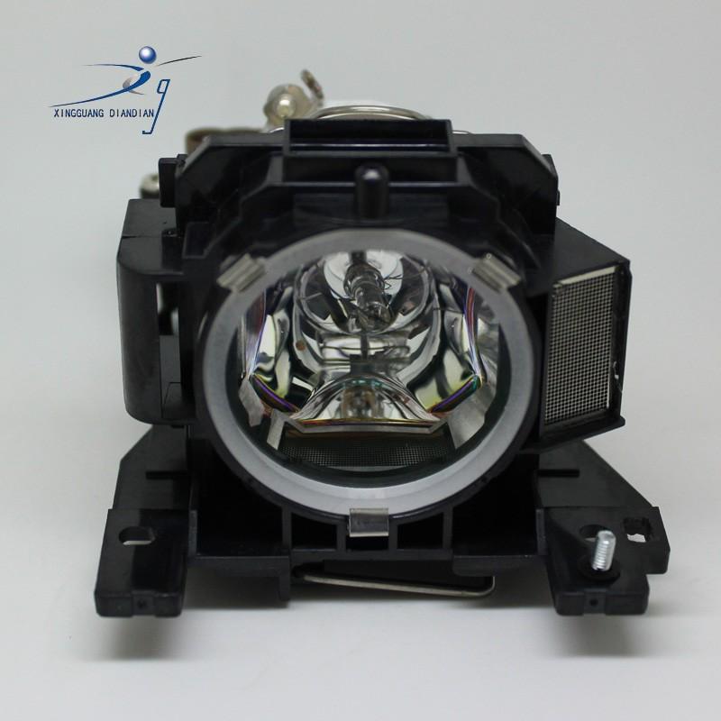 ถูก DT00893สำหรับฮิตาชิCP-A52 ED-A101 ED-A111 CP-A200เข้ากันได้เปลี่ยนหลอดไฟที่มีที่อยู่อาศัย