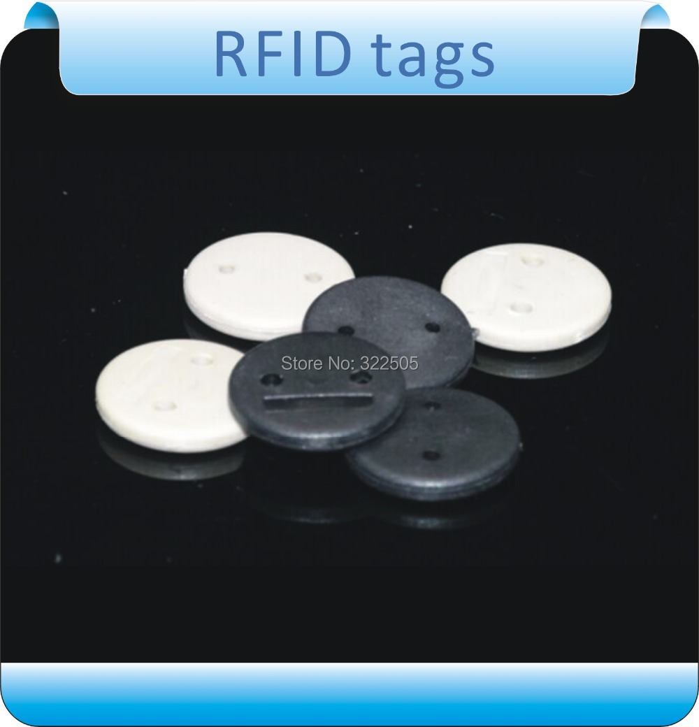 Free shipping100pcs13.56MHZ M-f-a-r-e 1  RFID  tags for clothes  laundry  high temperature  labels roll + 1pcs reader