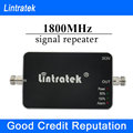 2016 Lintratek Newest Cell Phone Signal Boosters 65dbi GSM Repeater 1800Mhz Mini Size 4G LTE Signal