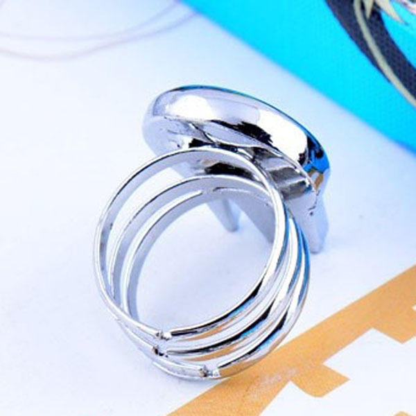 1pcs New Cute Soul Eater Death The Kid Rings Silver For Anime Cosplay B1105 HUA(China (Mainland))