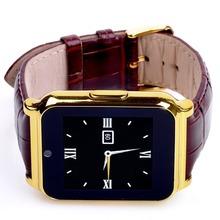 Горячая W90 Bluetooth спорт Smartwatch золото водонепроницаемый смарт часы телефон покрова-mate для android-ios Samsung iPhone Sony , чем GT08 ZD09