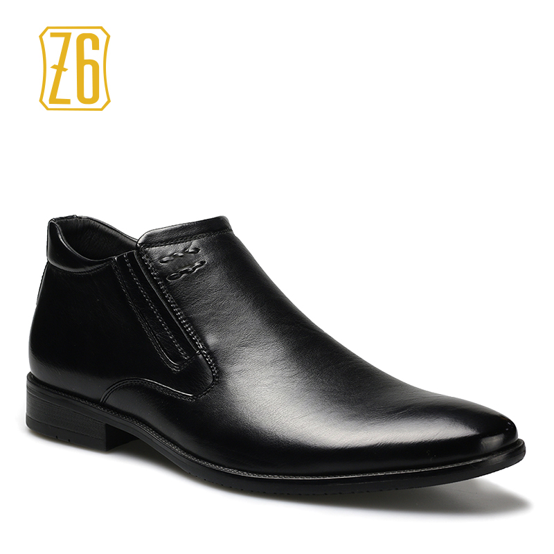British style men boots 39-45 spring fashion pointed toe leather boots #1R1295-1<br><br>Aliexpress