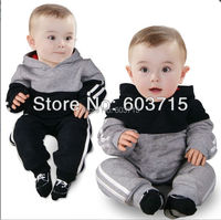 New arrive brand children tracksuit autumn children cloth set children brand new on clothing set boys' sport suit wear