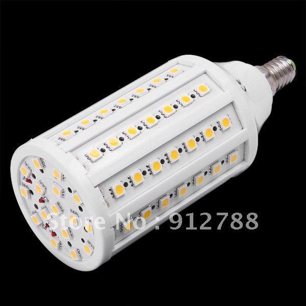 Warm/Cold White17W 1650lumens 220V/110V E14 LED Corn bulb Light with 86led 360degree Spotlight Free shipping DHL 10pcs/lot<br><br>Aliexpress