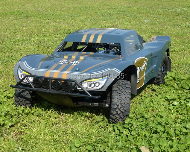 Free Shipping - 1/5 scale 29cc gas RC CAR RC Truck RTR(China (Mainland))