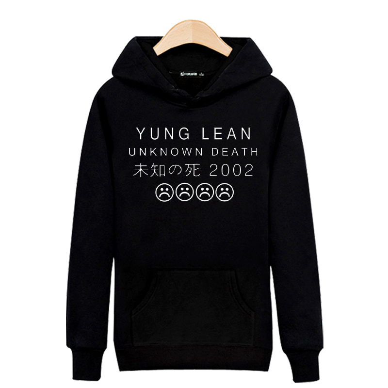 New Arrival YUNG LEAN Band 2016 Hoodies Men Hoody Sweatshirts in Mens Hoodies and Sweatshirts xxs(China (Mainland))