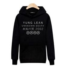 New Arrival YUNG LEAN Band 2016 Hoodies Men Hoody Sweatshirts in Mens Hoodies and Sweatshirts xxs