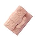 Korean Style Fashion Large Capacity Tri fold Wallet Women Luxury Designer Crocodile print Patent Leather Money