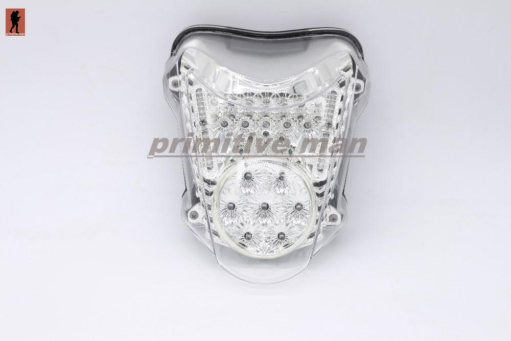 For SUZUKI HAYABUSA GSX1300R 2008-2012 Motorcycler Integrated LED Tail Light Turn signal Blinker Clear(China (Mainland))