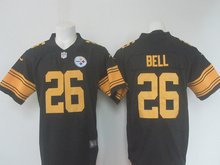 Top quality For Mens, Elite Home Away Black WHITE 4 COLOR Rush Free Shipping stitched Pittsburgh(China (Mainland))