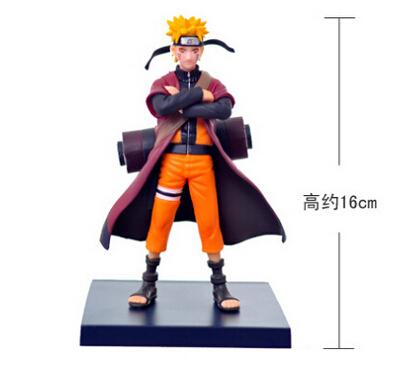 2016 Hot PVC Automobile ornaments Shippuden Naruto Uzumaki Buy some ornaments hand to do immortal mode Doll Toys Free Shipping(China (Mainland))
