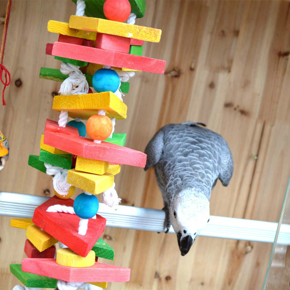 Bird Toy Outlet : Aliexpress buy parrot bird toys swing wood chew rope