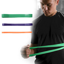 D1U# Brand Fitness equipment crossfit suspension trainer Set Of 3 Heavy Duty Resistance Band Fitness Exercise Yoga