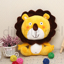 The Lion King small stuffed jungle animals for baby cloth doll lion plush soft toy boy birthday gift children's day(China (Mainland))