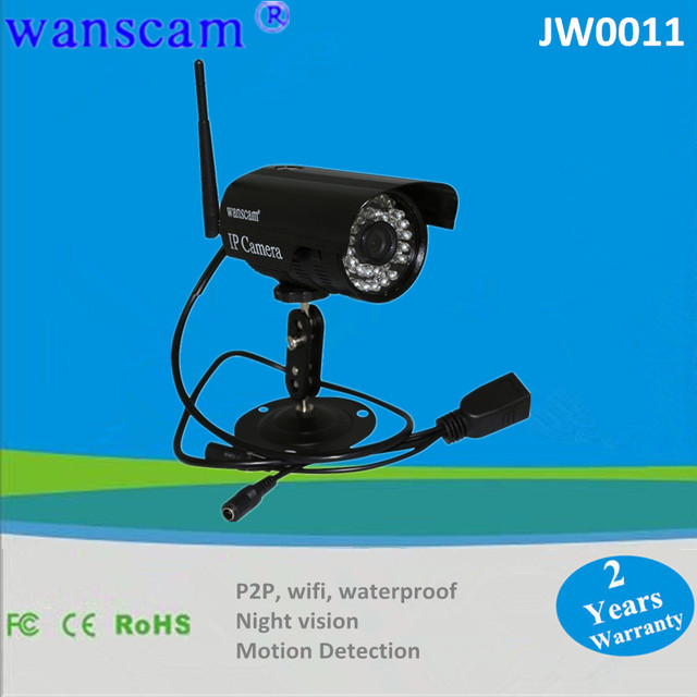 2 x Outdoor IR 20m CCTV Security Monitor Record Video Wireless Lens 3.6mm Weatherproof Infrared NightVision POE IP Webcam Camera