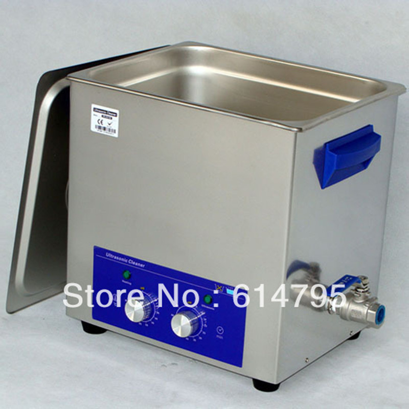 Derui Industrial ultrasonic cleaning machine with timer heated DR-MH100 10L(China (Mainland))