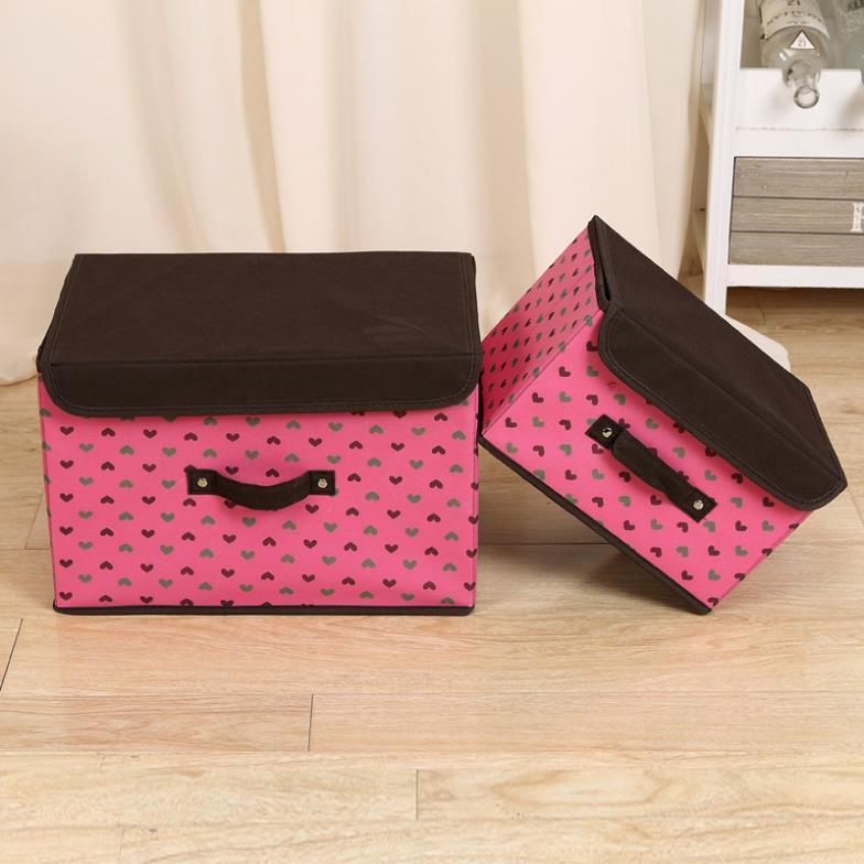 2015 Organizador De Maquiagem High Quality Storage Box For Bra, Soks Sorting Organizer Holder With Cover -size:s&l,colour Random(China (Mainland))