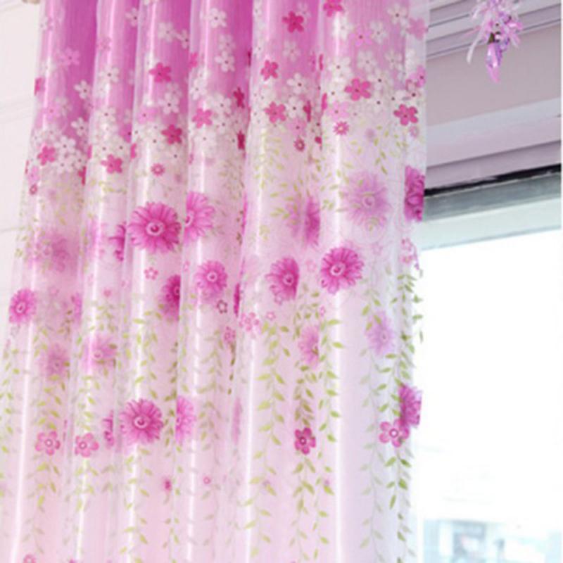 Chambre fen tre rideaux et rideaux promotion achetez des for Rideau porte fenetre salon