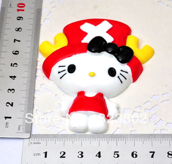 Flatback Resin Doll ONE PIECE TONY TONY CHOPPER Phone Case Jewelry Accessories Supply -1 PCS