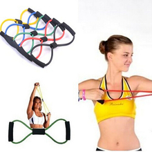 Pull Latex 8 Chest Developer Chest Expander Tension Device Yoga Sprots Tube Body Bands Elastic Spring Exerciser Resistance