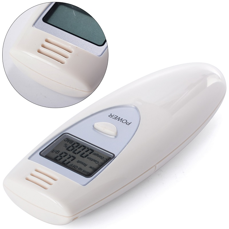 Цифровой жк-тестер спирта дыхания анализатор алкотестер тестер детектор тест YB186-SZ