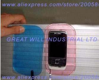 yellow sticky pad yellow sticky pads dashboard sticky pad 500pcs/lot free shipping(China (Mainland))