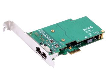 AXE2BL 2 ports ISDN BRI PCI-E Card pci-e low profile Asterisk card FOR for 2U server VoIP Calls Conference(China (Mainland))