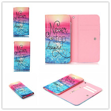 2016 Hot PU Leather Protection Phone Case 12 Painting Card Wallet Samsung Rex 80 S5222R,GT-S5222R - 3C Factory store
